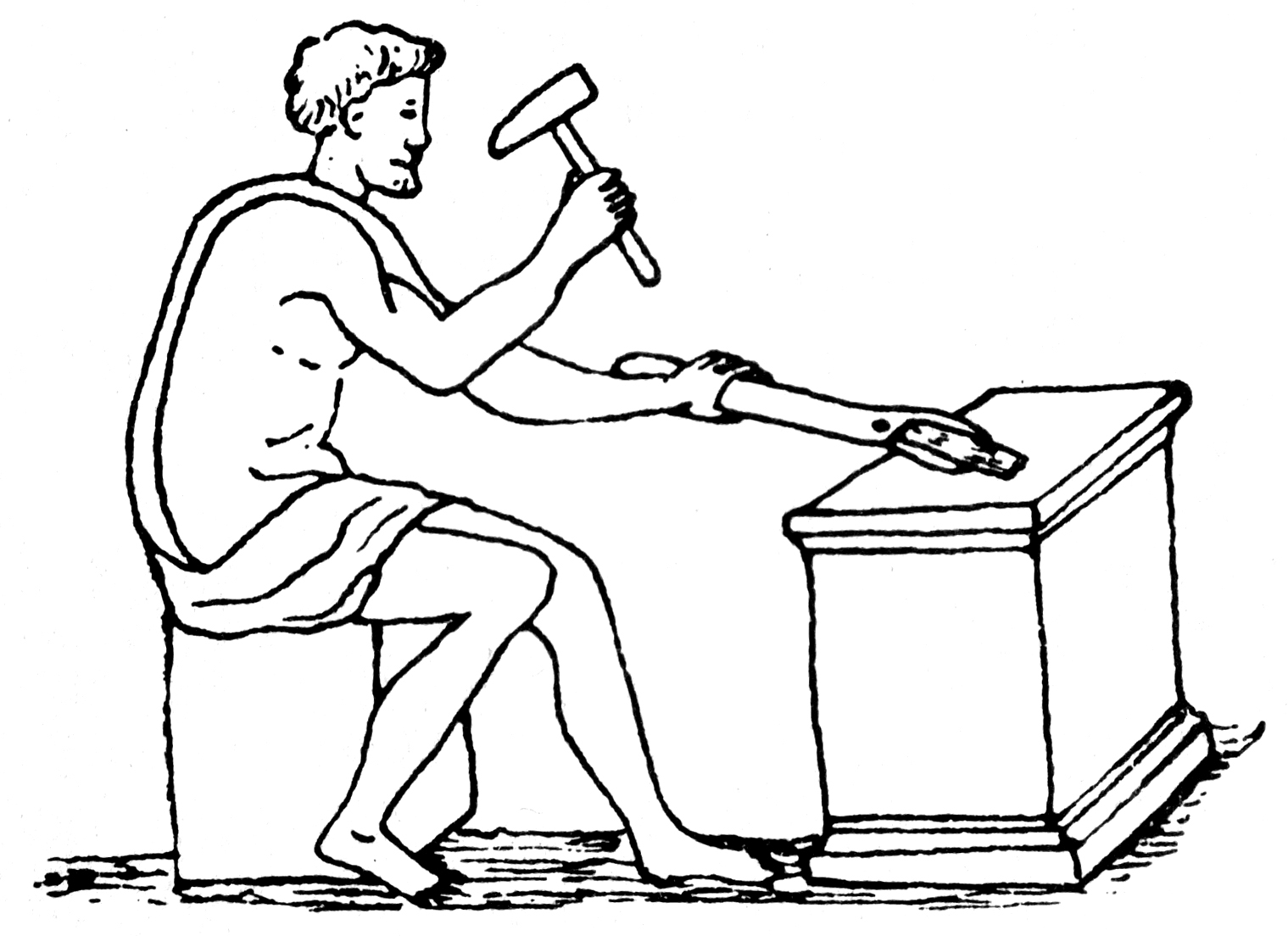 Roman blacksmith