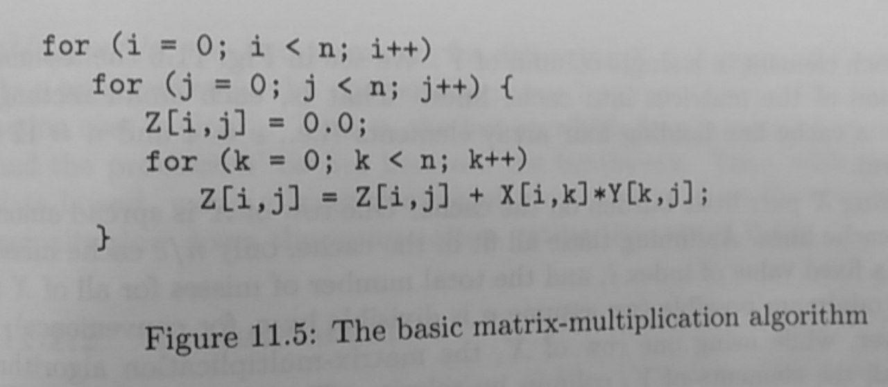 Basic matrix multiplication 1