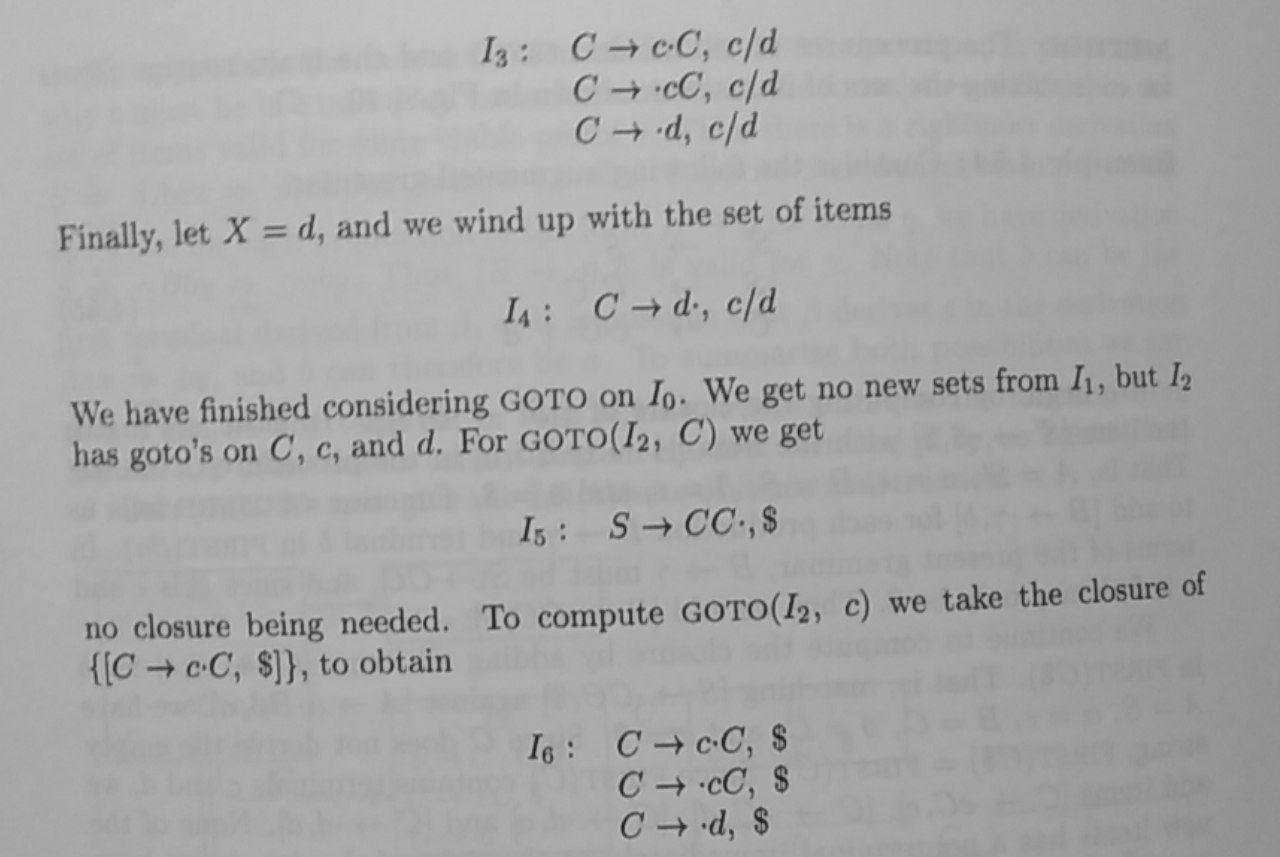 LR(1) example 4