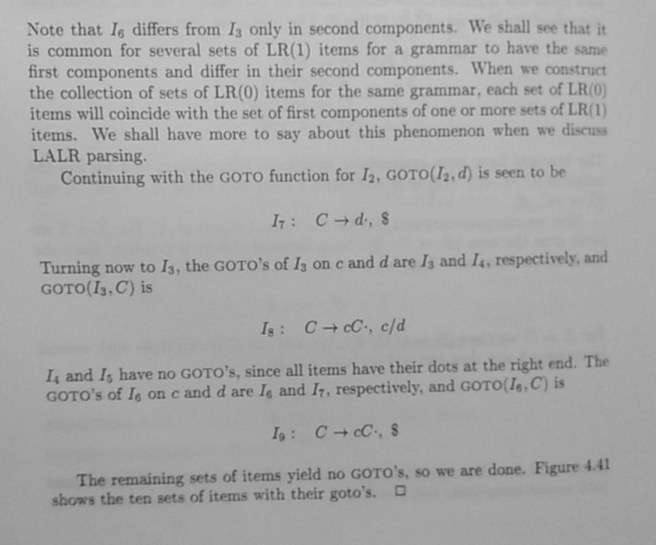 LR(1) example 5