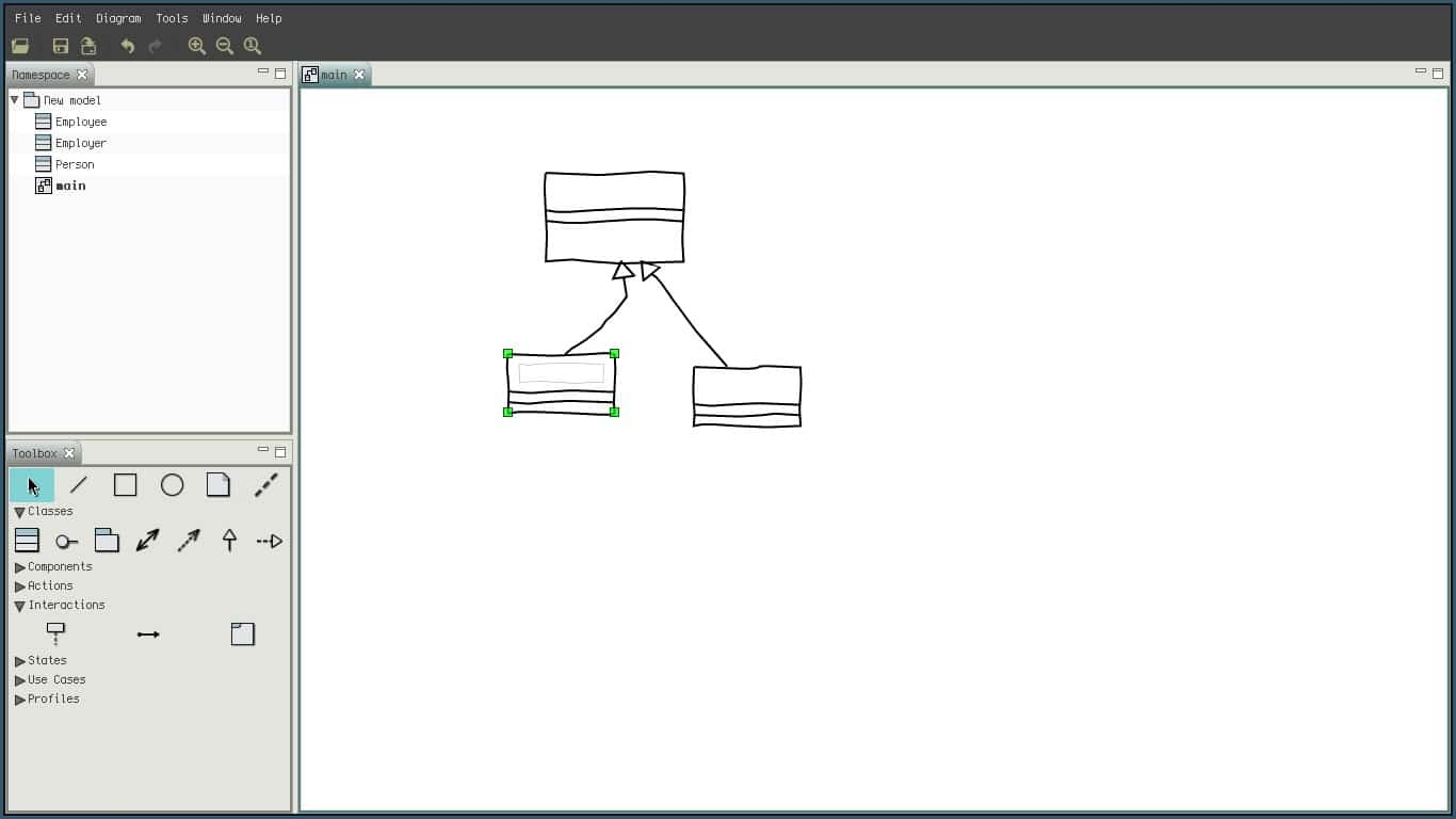 it was the first uml designer i installed i was directly shocked by its simplicity it made the work so much easier - Uml Editors