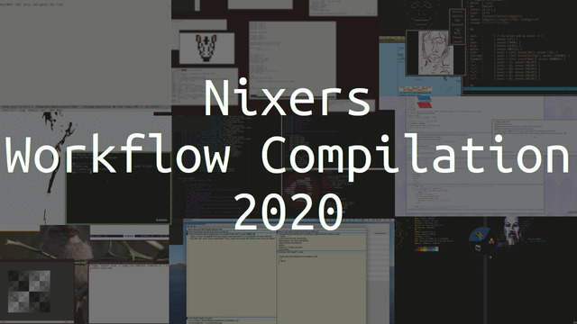 nixers workflow compilation