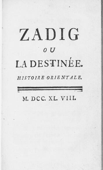 zadig cover